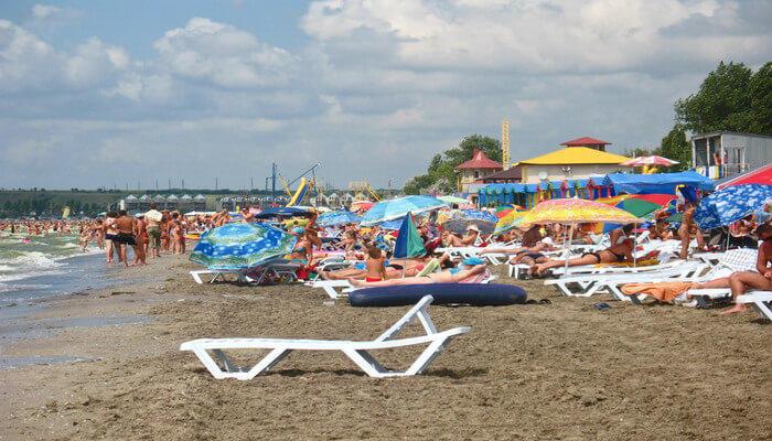 Ideal beach for children
