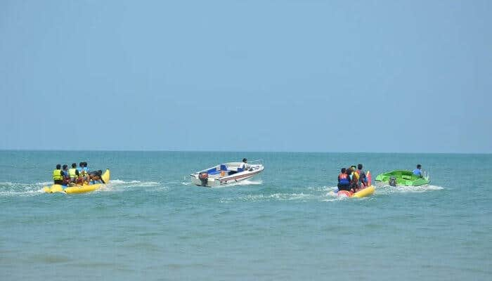 Banana boat ride is the best ride