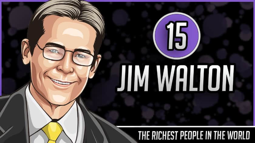 Richest People in the World - Jim Walton