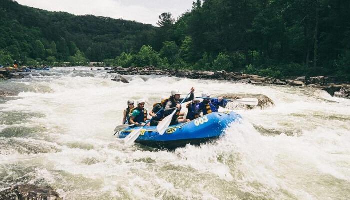 Raveer rafting is adventure activity