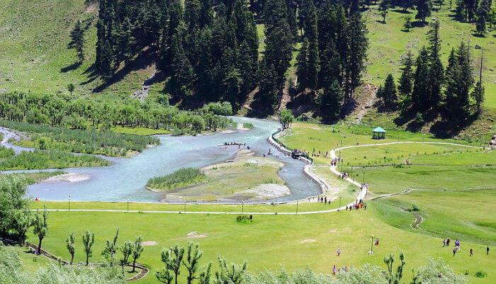 Beta valley in kashmir