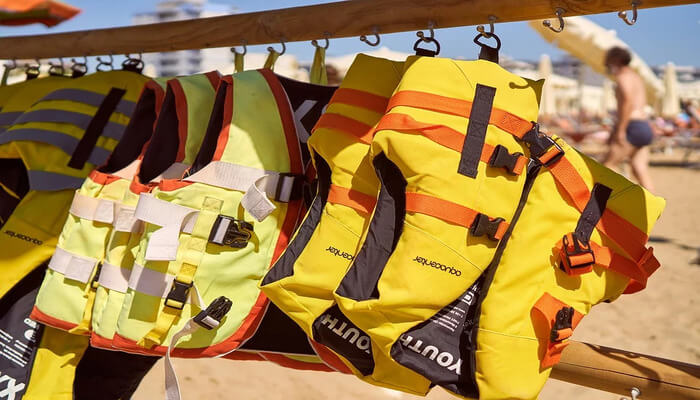 A Lifejacket is a must