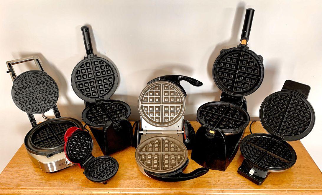 waffle-makers-group-promo-breville-cuisinart-dash-presto-hamilton-beach-black-decker