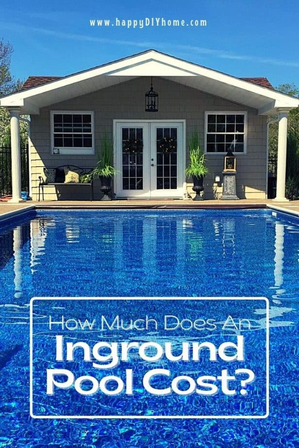 How much does an inground pool cost