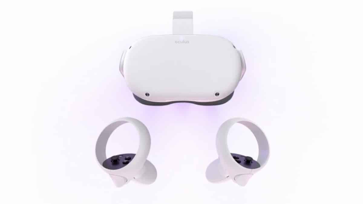 oculus quest 2 vr headset touch controller