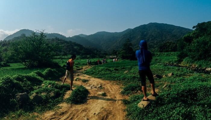 Trekking is the best activity