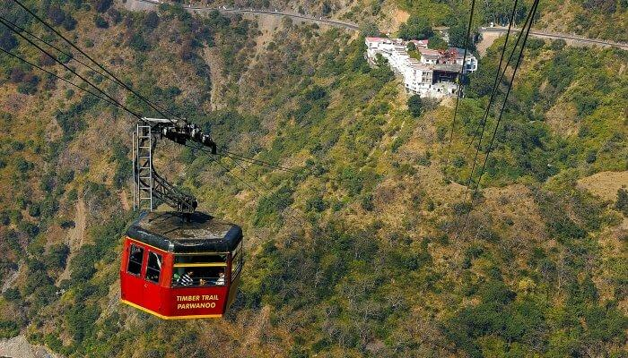 Ropeway is the best activity