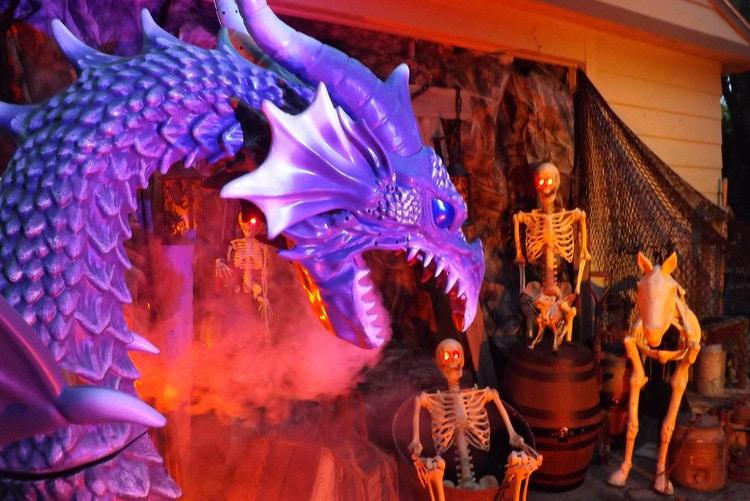 Haunted Mine Dragon Lair scene