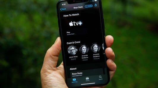 iPhone app: Apple TV+
