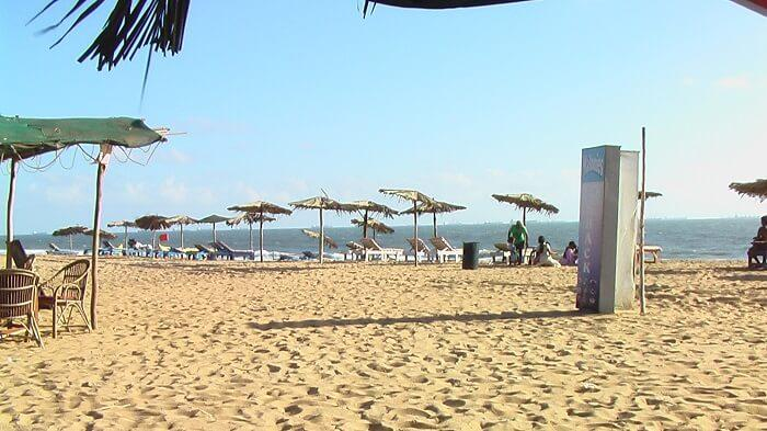 calangute beach during the day