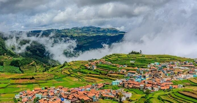 beautiful view of ooty