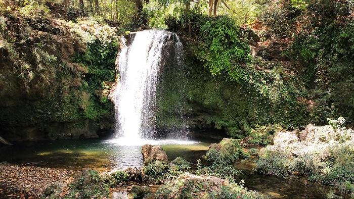 Scene of Bhatta Falls