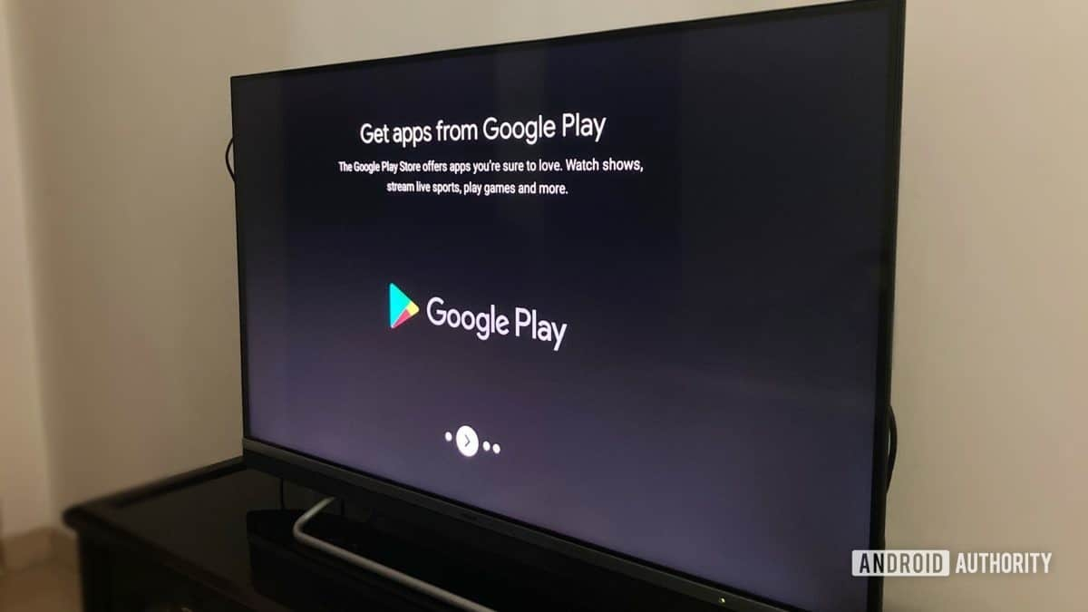 Android TV Google Play Store