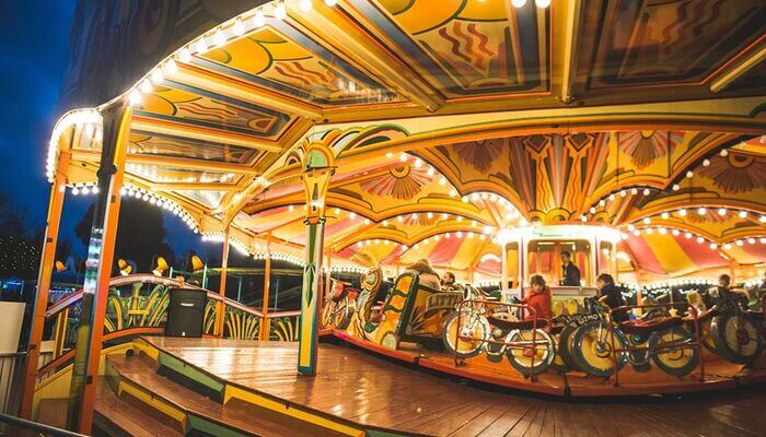 Have fun at Great Britain's oldest amusement park