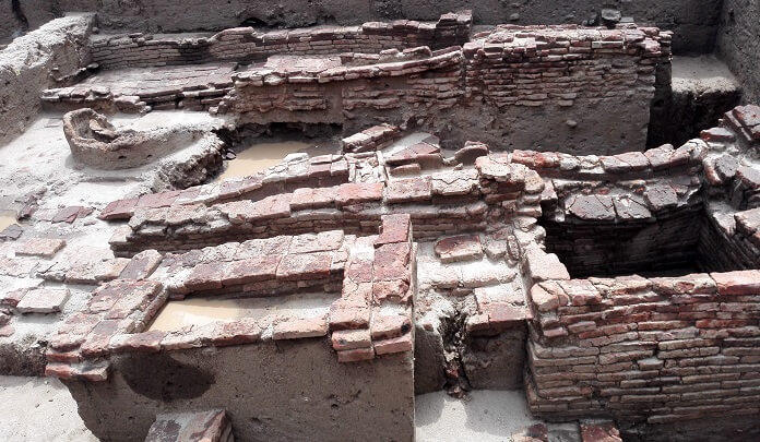 It is a large scale excavation site in Tamil Nadu.