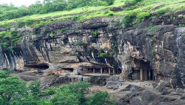 Pitalkhora Caves View