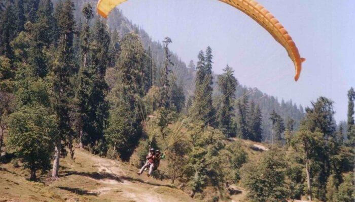 best things to do in Paragliding