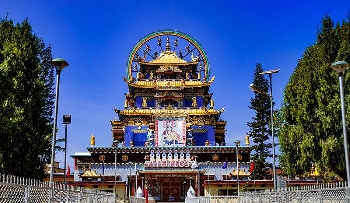 A beautiful Tibetan monastery