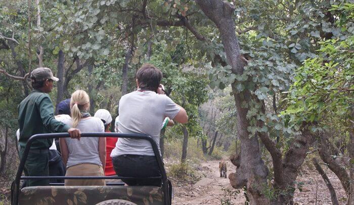 Jeep safari on the hills