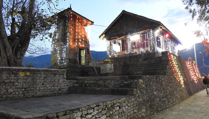 Temple in Dalhousie