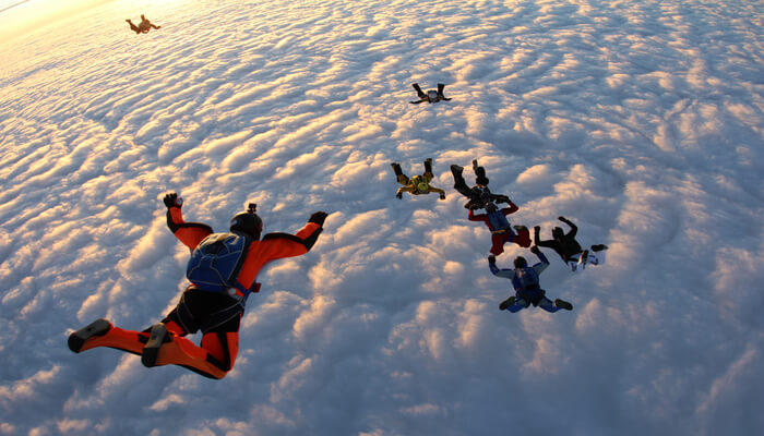 Lifetime skydiving experience in Hervey Bay