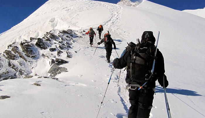 go for mountaineering in Nepal