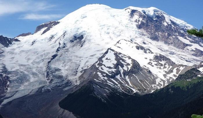 Mountains of snow