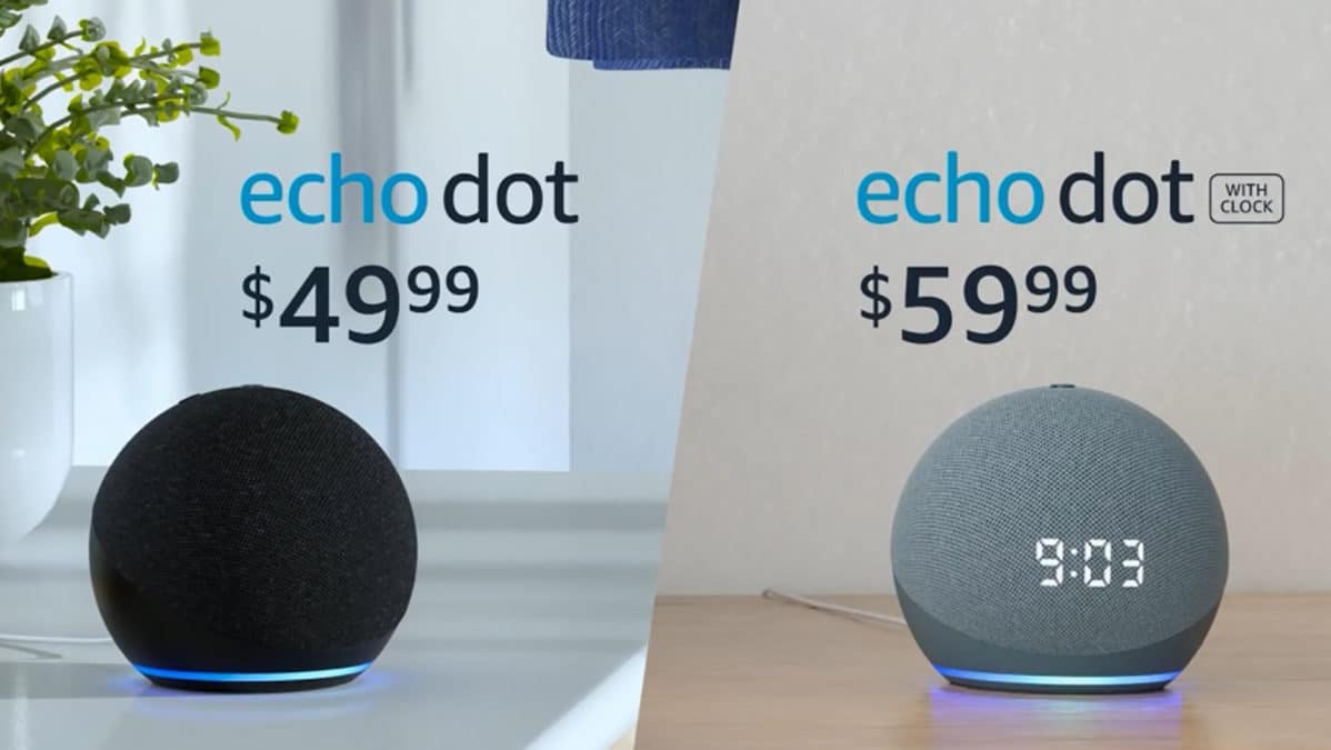 Pricing for Amazon Echo Dot 2020