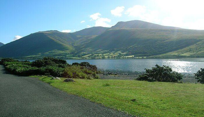 Scafell Pike in Cumbria