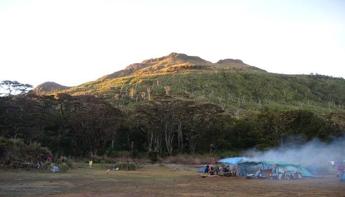 Mount Epo in Davo del Sur