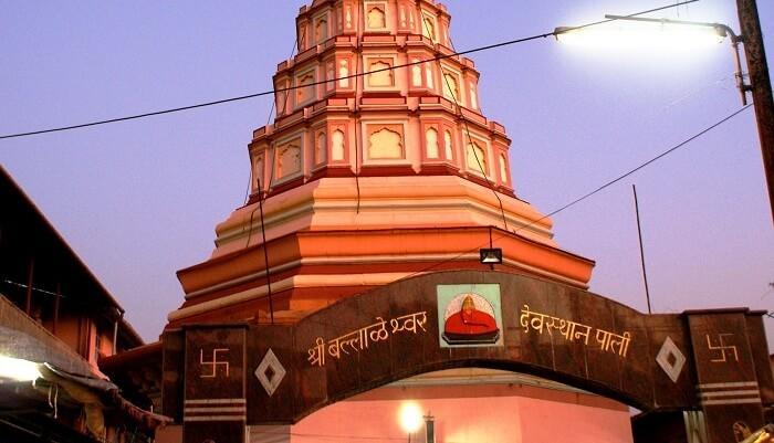 Temple in Pali