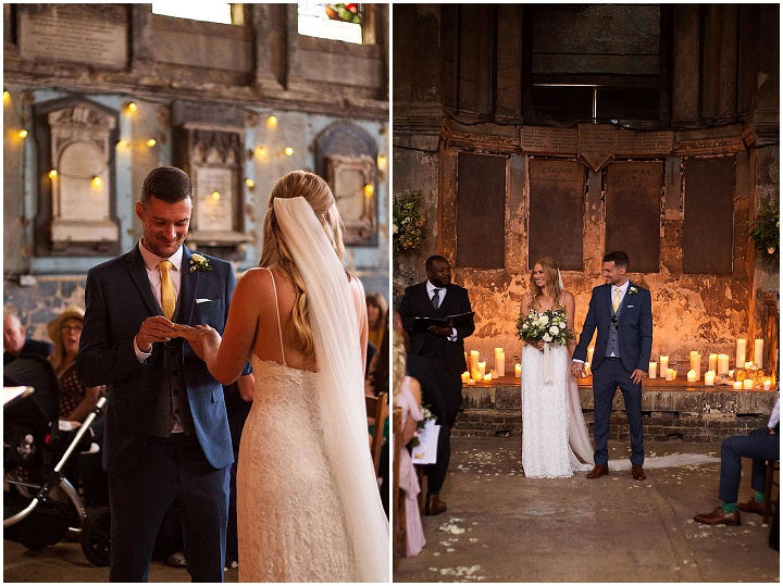 Rebekah and Ben's 'Rustic Chic Meets City Flare' London Weddingby Lottie Povall Photography