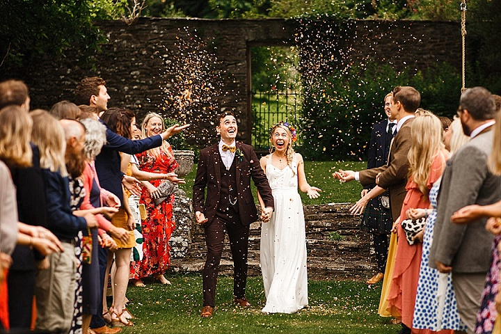 Rosa and Tom's 'Full of Laughter' Homemade Welsh Wedding by James Richard Photography