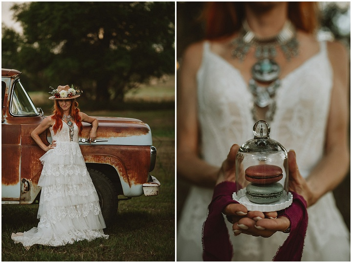 'Rustic Desh Boho' organic chic wedding inspiration