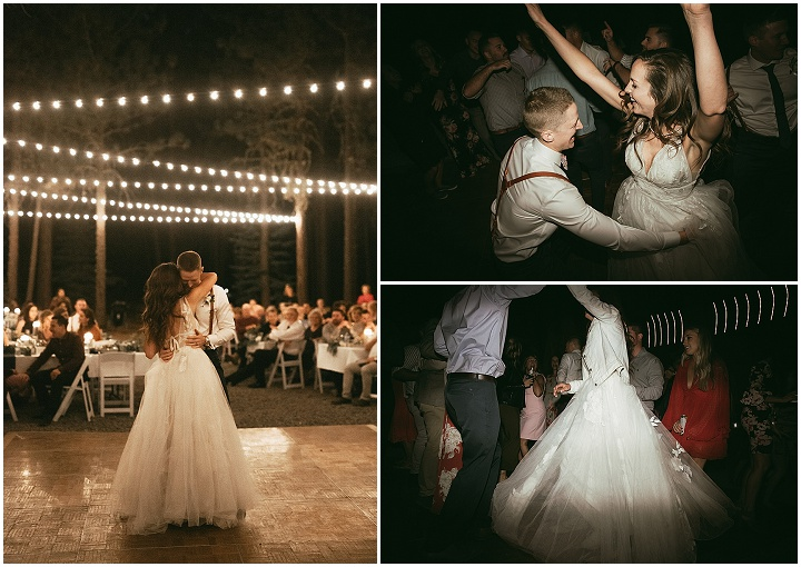 Kourtney & Kevan's DIY California Forest Wedding with 1000 Paper Cranes by Matthew Lim Photography