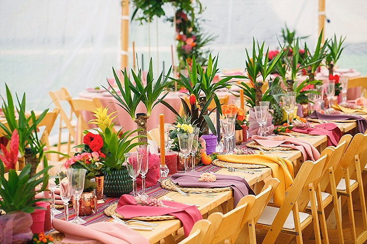 Viva La Mexico!  Bold and Bright Fiesta Wedding Inspiration