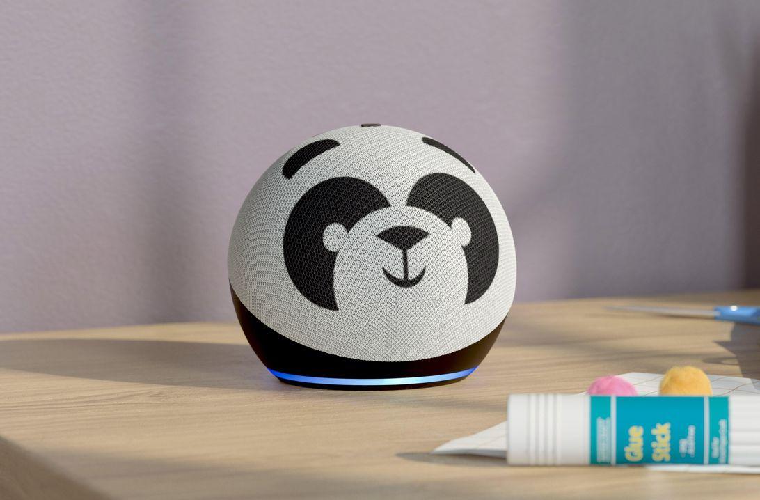 Echo Dot Kids Edition Panda Edition