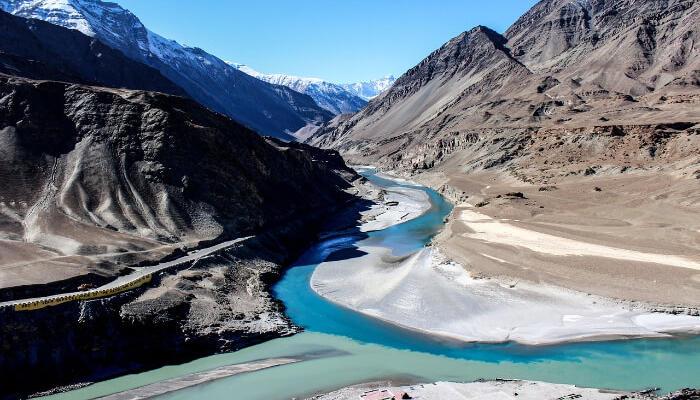View of beautiful Ladakh