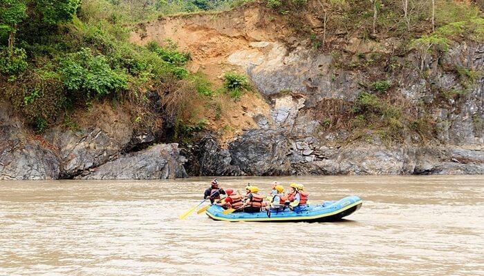River rafting in kerala