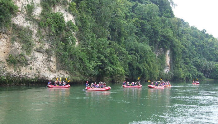 Beautiful place for river rafting