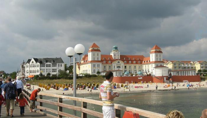 Bijn beach in germany