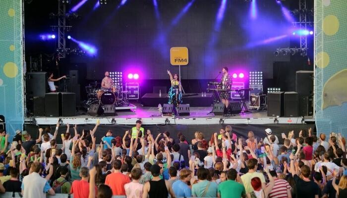 popular music festival