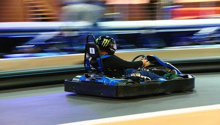 Go karting at the Royal Heritage Mall