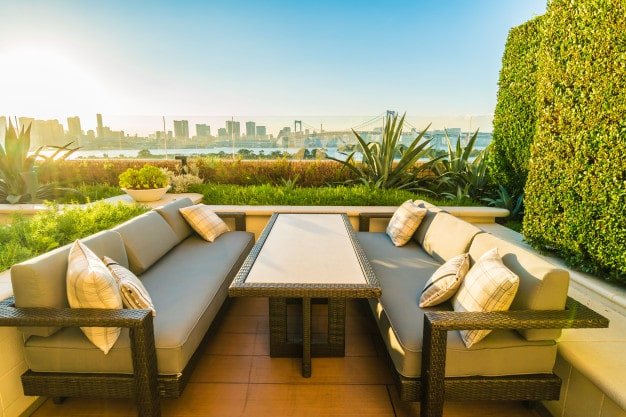 How do you protect outdoor patio furniture
