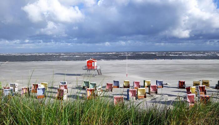 Langtog Beach in Germany