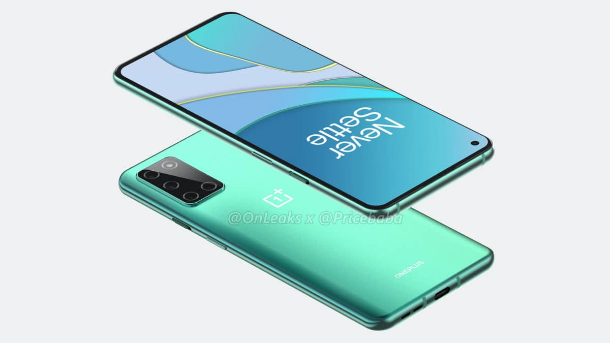 oneplus 8t images are rendered