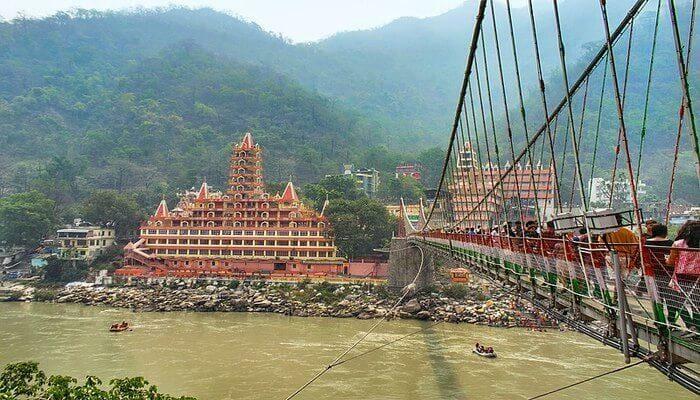 Rishikesh - Places to visit in Uttarakhand