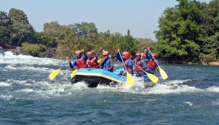 River rafting is the best activity