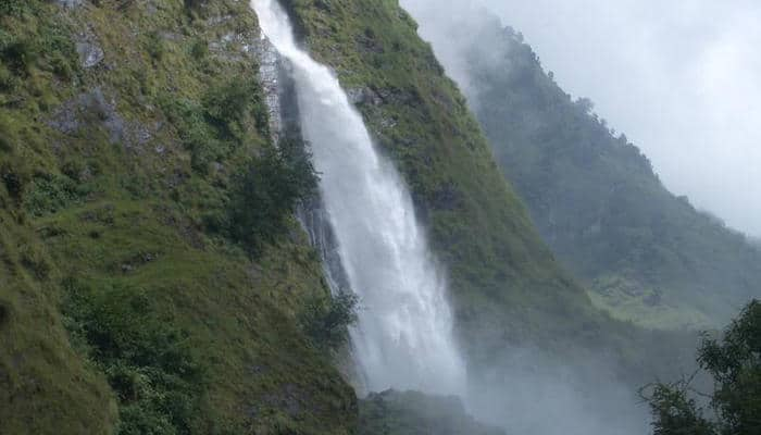 Rudradhari Falls near Kausani