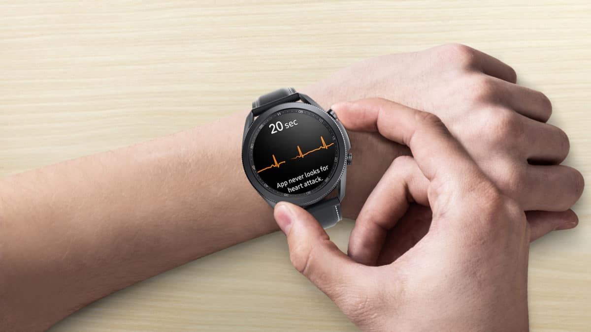 Samsung Galaxy Watch 3 EKG